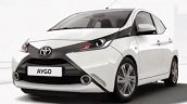 2014 Toyota Aygo front white leaked official image