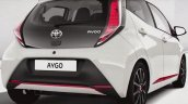 2014 Toyota Aygo rear leaked official image