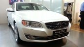 2014 Volvo S80 India launch live front quarters