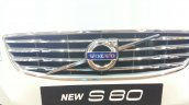 2014 Volvo S80 India launch live logo