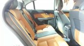 2014 Volvo S80 India launch live rear seat