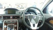 2014 Volvo S80 India launch live steering