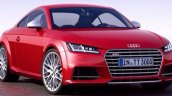 2015 Audi TT-S front three quarters leaked image