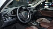 2015 BMW X3 dashboard - Geneva Live
