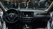 2015 BMW X3 dashboard detail - Geneva Live
