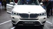2015 BMW X3 front - Geneva Live