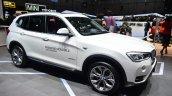 2015 BMW X3 front three quarter right - Geneva Live