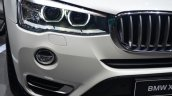 2015 BMW X3 headlamp detail - Geneva Live