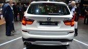 2015 BMW X3 rear profile - Geneva Live