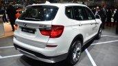 2015 BMW X3 rear three quarter - Geneva Live
