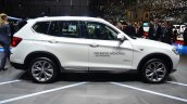 2015 BMW X3 side - Geneva Live