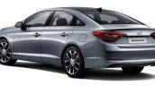 2015 Hyundai Sonata press shot rear quarter