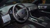 2015 Jaguar XFR-Sport diesel dashboard - Geneva Live