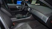 2015 Jaguar XFR-Sport diesel dashboard passenger side - Geneva Live