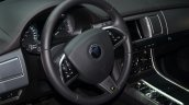 2015 Jaguar XFR-Sport diesel steering - Geneva Live
