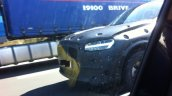 2015 Volvo XC90 production spied headlights