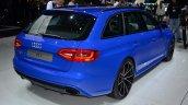 Audi RS4 Avant Nagaro rear three quarter - Geneva Live