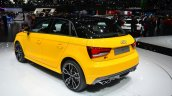 Audi S1 Sportback rear three quarter - Geneva Live