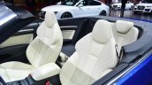 Audi S3 Cabriolet seats - Geneva Live