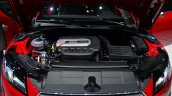 Audi TTS engine bay - Geneva Live