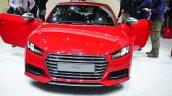 Audi TTS front with doors open - Geneva Live