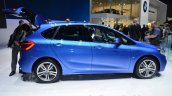 BMW 2 Series Active Tourer side at Geneva Motor Show