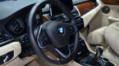BMW 2 Series Active Tourer steering wheel at Geneva Motor Show
