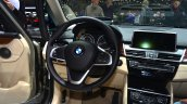 BMW 2 Series Active Tourer steering wheel cockpit at Geneva Motor Show