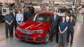 BMW X4 prodution kicks off in Spartanburg