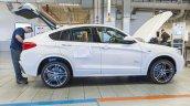 BMW X4 side at Spartanburg plant