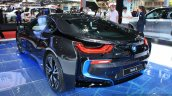 BMW i8 at 2014 Bangkok Motor Show rear quarter