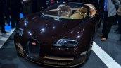 Bugatti Veyron Grand Sport Vitesse Rembrandt Bugatti front quarter