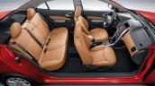 Chevrolet Optra Egypt seats press shot