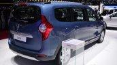 Dacia Lodgy 2014 Geneva Motor Show rear quarter