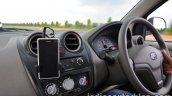 Datsun Go review dashboard driver side