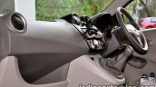 Datsun Go review dashboard with gear lever
