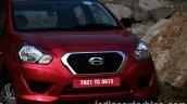 Datsun Go review front fascia
