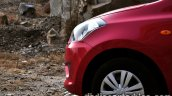 Datsun Go review front fender