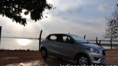 Datsun Go review front three quarters