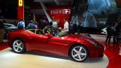 Ferrari California T side at Geneva Motor Show