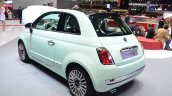 Fiat 500 Cult rear three quarter - Geneva Live