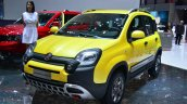 Fiat Panda Cross front three quarter - Geneva Live