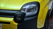 Fiat Panda Cross headlamp detail - Geneva Live