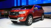 Ford Everest Concept at the Bangkok Motor Show front quarter
