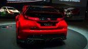 Honda Civic Type R Concept rear view at Geneva Motor Show