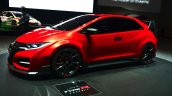 Honda Civic Type R front three quarter view Concept at Geneva Motor Show