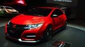 Honda Civic Type R front three quarters right Concept at Geneva Motor Show