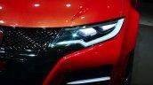 Honda Civic Type R headlamp Concept at Geneva Motor Show