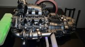 Honda NSX powertrain layout V6 exhaust - Geneva Live