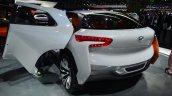 Hyundai Intrado concept rear three quarter left - Geneva Live